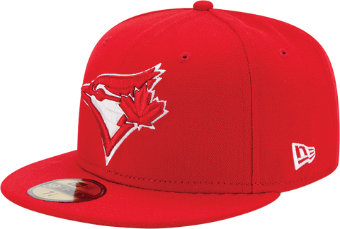 Toronto Blue Jays New Era 59Fifty Fitted Red