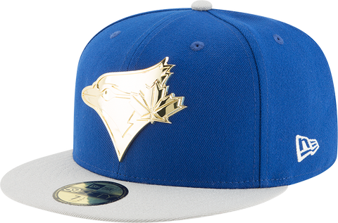 Toronto Blue Jays New Era 59Fifty Golden Finish
