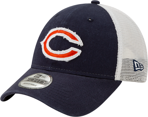Chicago Bears New Era 9Twenty Mesh Back Trucker Cap