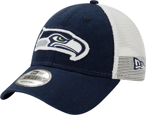 Seattle Seahawks New Era 9Twenty Mesh Back Trucker Cap