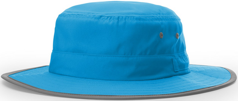 Blank Lightweight Performance Wide Brim Sun Hat Sky Blue