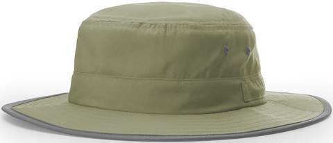 Blank Lightweight Performance Wide Brim Sun Hat Slate