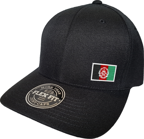 Afghanistan Cap Flex Fit FLS Black
