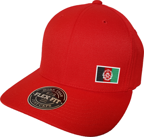 Afghanistan Cap Flex Fit FLS Red