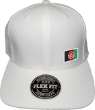 Afghanistan Cap Flex Fit FLS White