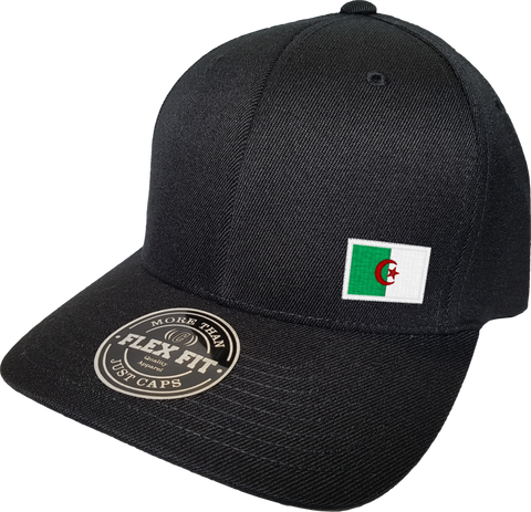 Algeria Cap Flex Fit FLS Black