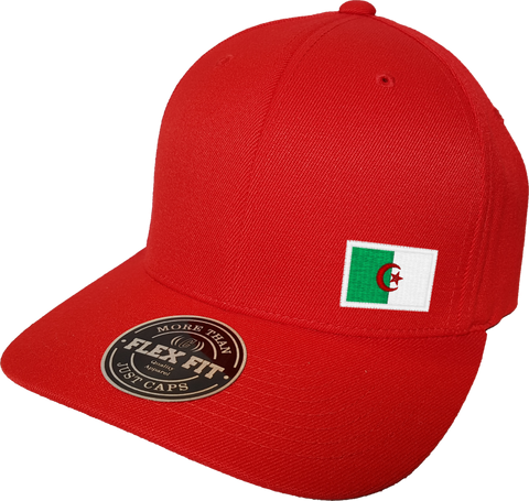 Algeria Cap Flex Fit FLS Red