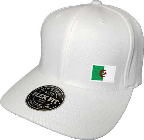 Algeria Cap Flex Fit FLS White