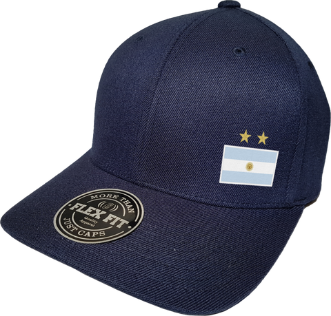 Argentina Cap Flex Fit FLS Navy
