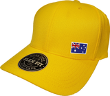Australia Cap Flex Fit FLS Gold