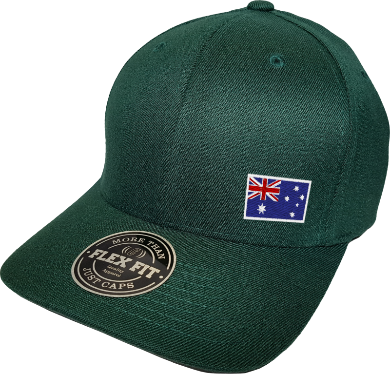 Australia Cap Flex Fit FLS Green