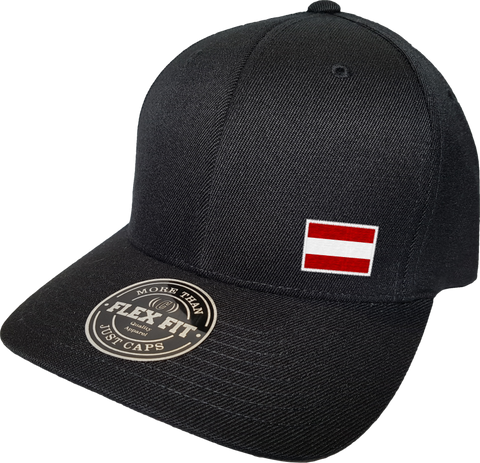 Austria Cap Flex Fit FLS Black