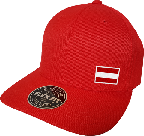 Austria Cap Flex Fit FLS Red