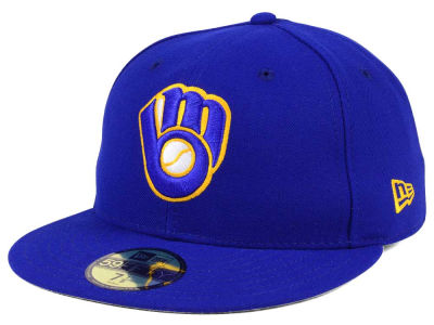 Milwaukee Brewers Fitted Alt
