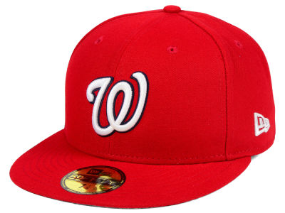 Washington Nationals Fitted Game