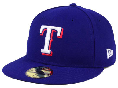Texas Rangers Fitted Game