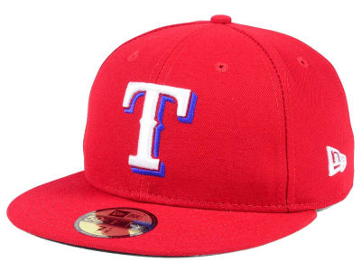 Texas Rangers Fitted Alt