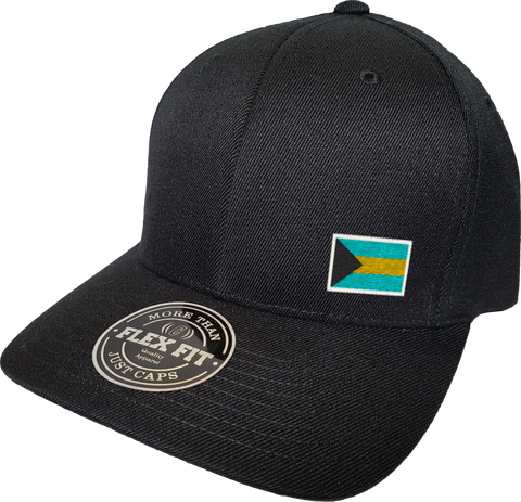 Bahamas Cap Flex Fit FLS Black