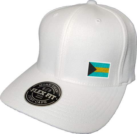 Bahamas Cap Flex Fit FLS White