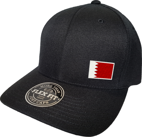 Bahrain Cap Flex Fit FLS Black