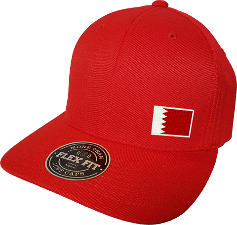 Bahrain Cap Flex Fit FLS Red