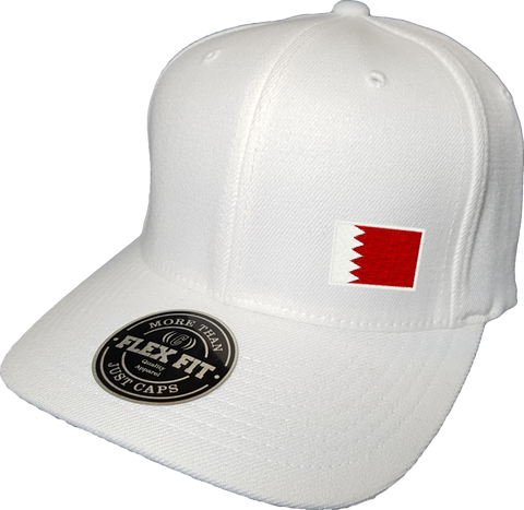 Bahrain Cap Flex Fit FLS White
