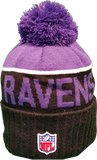 Baltimore Ravens Sideline Knit Pom Toque