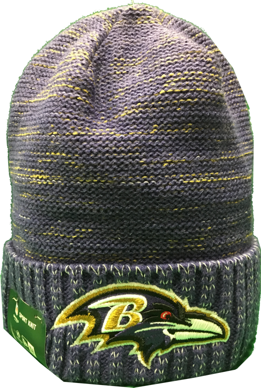 Baltimore Ravens Color Rush Sideline Beanie Toque