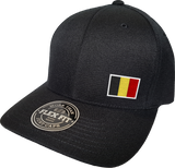 Belgium Cap Flex Fit FLS Black