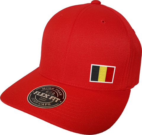 Belgium Cap Flex Fit FLS Red