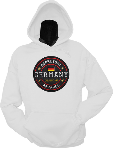Germany Hoodie Benchmark White