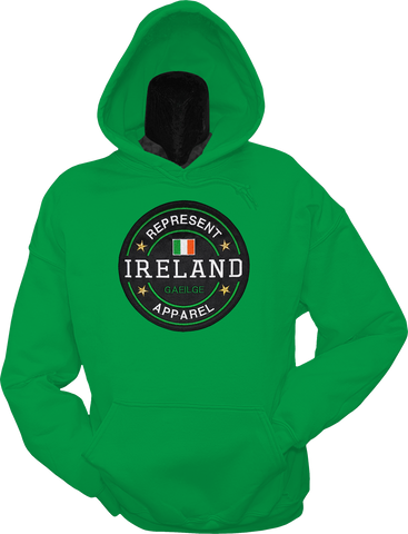 Ireland Hoodie Benchmark Kelly Green