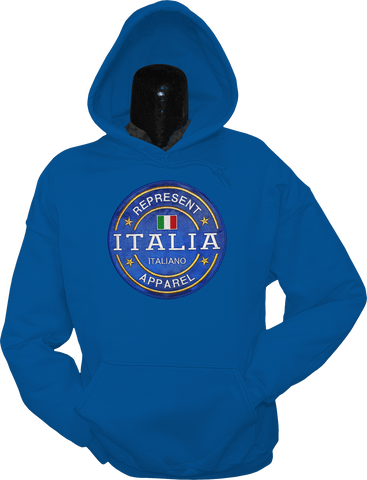 Italy Hoodie Benchmark Royal