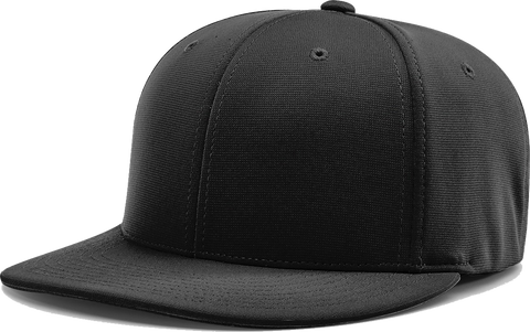 Blank RICHARDSON PTS20 PULSE-R Flex Cap Black