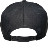 Six One 3 SS Script Snapback Black-Grey