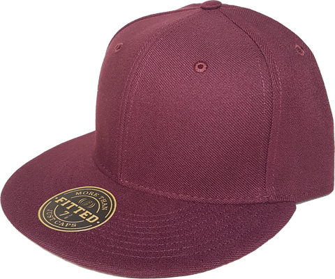 Blank RICHARDSON Fitted Cap Maroon