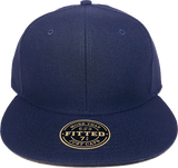 Blank RICHARDSON Fitted Cap Navy Blue