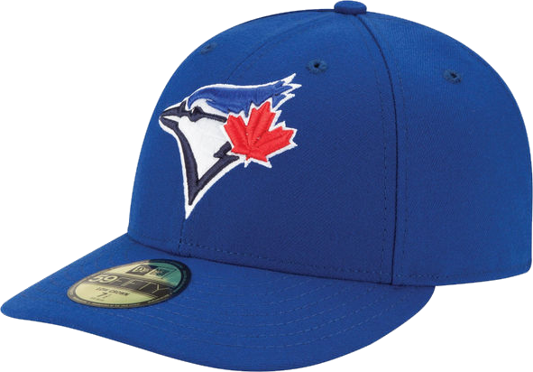 Toronto Blue Jays Low Crown Fitted Game Cap – More Than Just Caps ... 85ff07a21cf