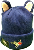 Toronto Blue Jays Youth Cozy Cutie Blue New Era Toque
