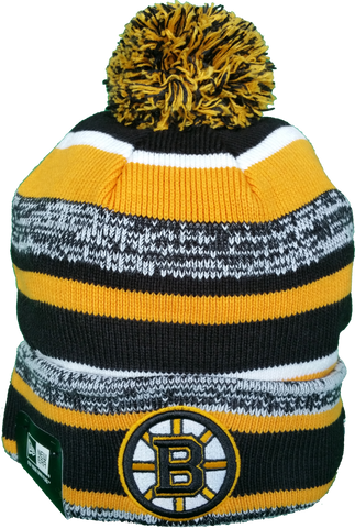 Boston Bruins NHL Sport Fleece Lined Pom Toque