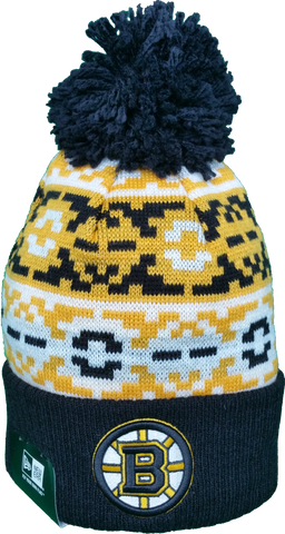 Boston Bruins Retro Chill Pom Toque