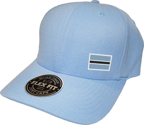 Botswana Cap Flex Fit FLS Powder Blue