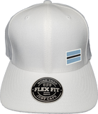 Botswana Cap Flex Fit FLS White