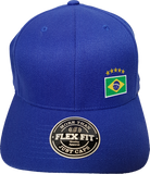 Brazil Cap Flex Fit FLS Blue