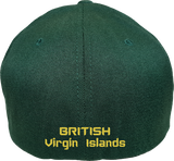 British Virgin Islands Cap Flex Fit FLS Green