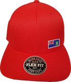 British Virgin Islands Cap Flex Fit FLS Red