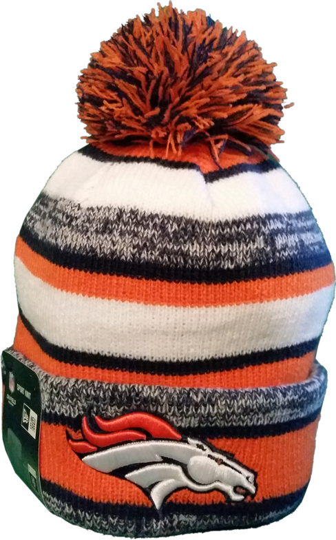 6c1dc015edf Denver Broncos Sideline Knit Hat – More Than Just Caps Clubhouse