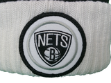 Brooklyn Nets Mitchell & Ness High Five NBA Pom Toque