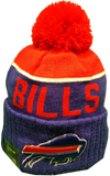 Buffalo Bills Sideline Knit Pom Toque