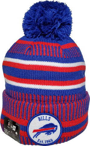 Buffalo Bills Knit Pom Toque NFL Sideline